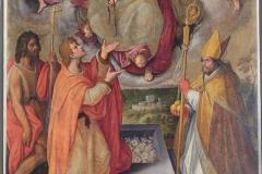 Cintola-11_La-Madonna-assunta-che-dona-la-Cintola-a-san-Tommaso-tra-san-Giovanni-Battista-e-san-Nicola-di-Bari