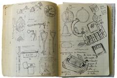 Giuseppe Cirillo, quaderno