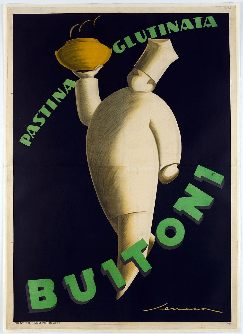 Federico Seneca. Dal 1919 al 1932 grafico e copywriter alla Buitoni ... 1f629663c23
