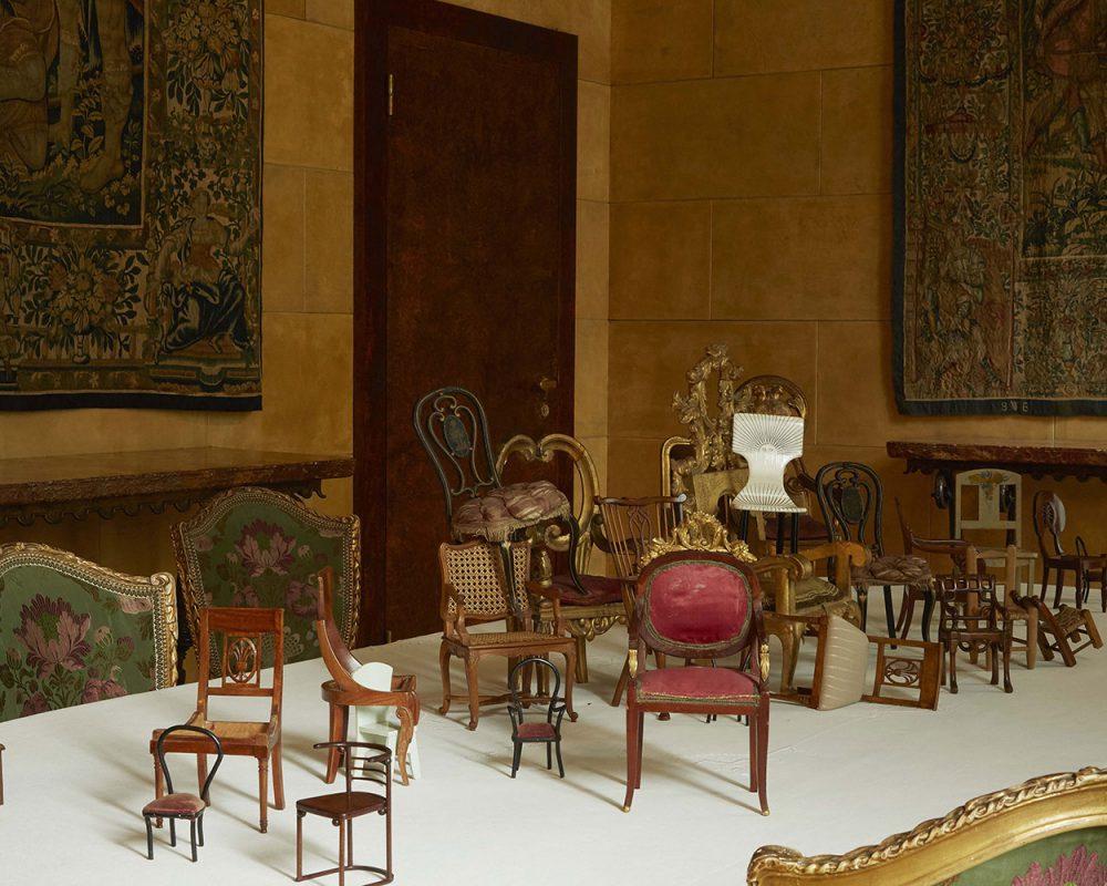in miniatura mobili e modelli in legno a milano